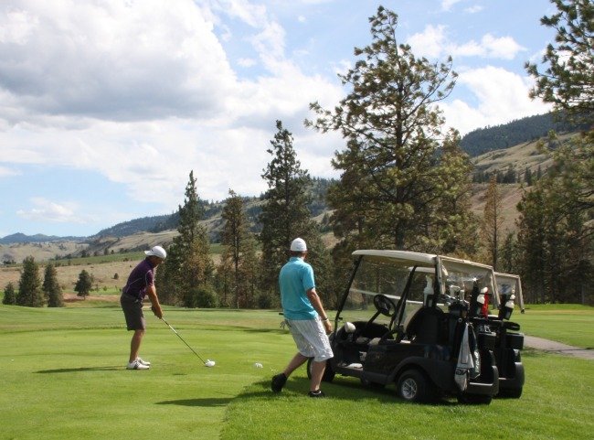 Golf challenge at Fairview